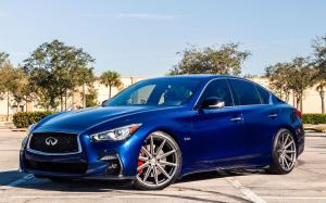 Infiniti Q50S by Naples Speed on Vossen Wheels (VFS-10)