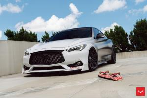 Infiniti Q60S 3.0t on Vossen Wheels (CV10) 2019 года