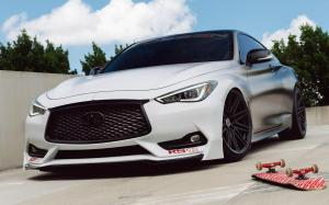 Infiniti Q60S 3.0t on Vossen Wheels (CV10)