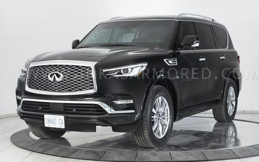 Infiniti QX80 5.6 Armored by Inkas '2020