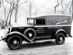 1933 International D-1 Delivery Panel Truck