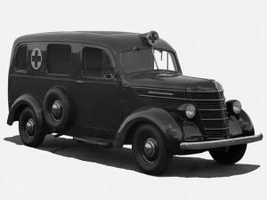 1940 International D-2 Ambulance