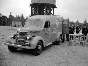1942 International D-2 Ambulance