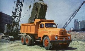 International-Harvester RF-212 Dump Truck 1952 года