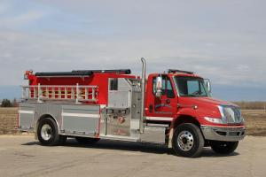 2017 International 7400 Fire Pumper