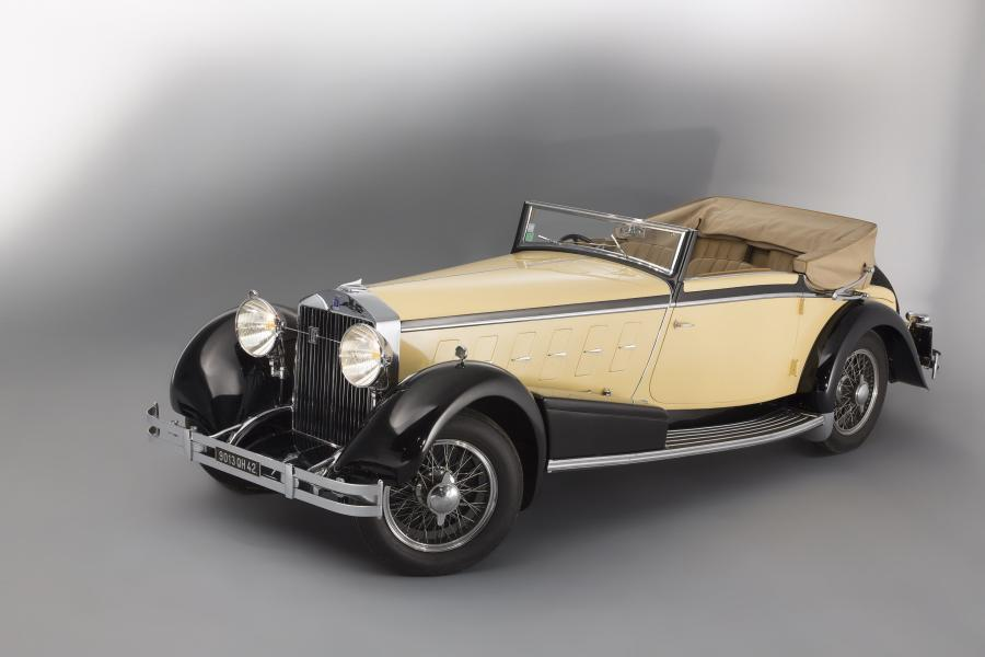 Isotta-Fraschini Tipo 8A Cabriolet by Ramseier '1924
