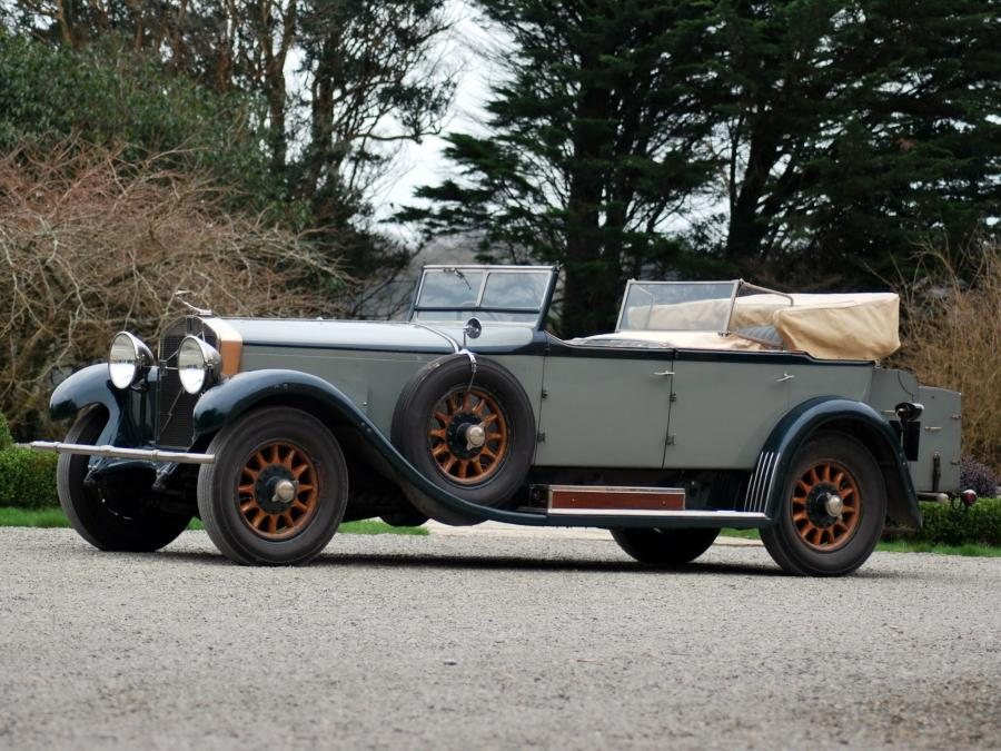 Isotta-Fraschini Tipo 8A S Tourer by Castagna '1927