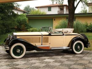 1928 Isotta-Fraschini Tipo 8A S Roadster-Cabriolet by Castagna