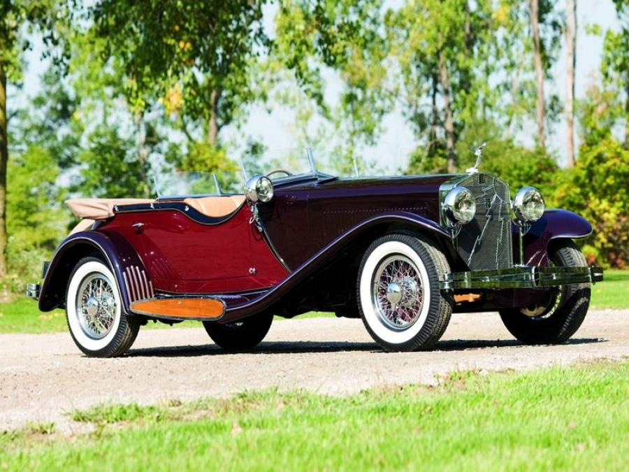 Isotta-Fraschini Tipo 8A Dual Cowl Sports Tourer by Castagna '1933