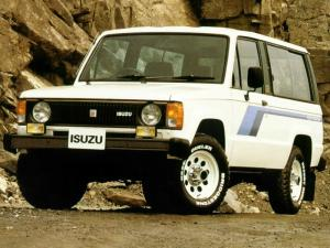 Isuzu Trooper II 2-Door 1983 года