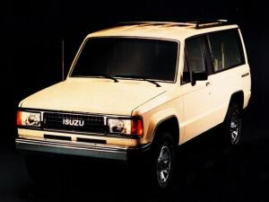 Isuzu Trooper 2-Door 1986 года