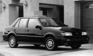 Isuzu I-Mark Sedan 1987 года