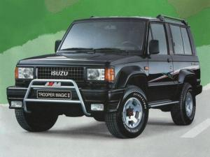 Isuzu Trooper Magic II 3-Door 1990 года