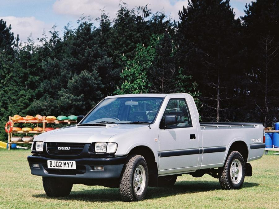 Isuzu TF 4x2 Single Cab (UK) '1992