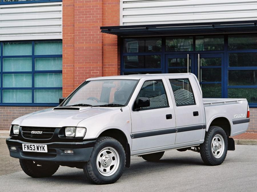 Isuzu TF 4x4 Double Cab (UK) '1992