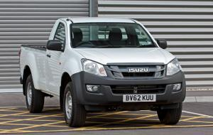 2012 Isuzu D-Max Single Cab