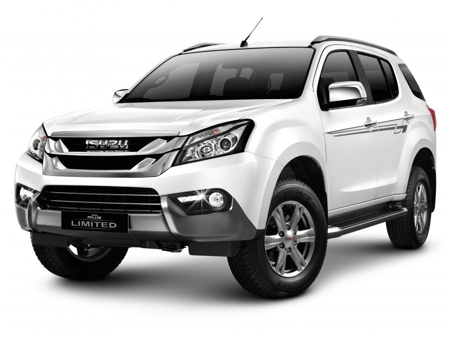 2016 Isuzu MU-X Limited Edition (PH)
