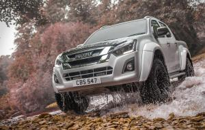 Isuzu D-Max AT35 Double Cab by Arctic Trucks 2017 года (UK)