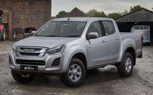 Isuzu D-Max Eiger Double Cab (UK) '2017