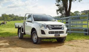 Isuzu D-Max SX Single Cab 2017 года