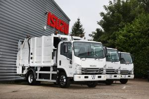 2017 Isuzu Forward N75.190 Compaction Truck