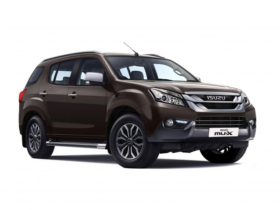 2017 Isuzu MU-X (IN)