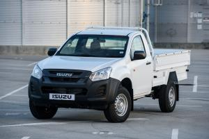 Isuzu D-Max Single Cab Chassis 2018 года