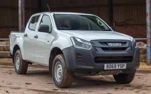 Isuzu D-Max Ultility Double Cab (UK) '2018