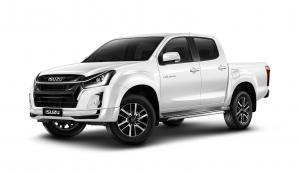 Isuzu D-Max Hi-Lander Stealth 4-Door (Everest Pearl White) 2018 года