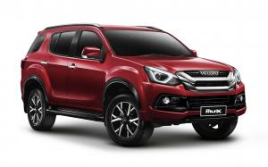 Isuzu MU-X The Onyx (Etna Red) 2019 года