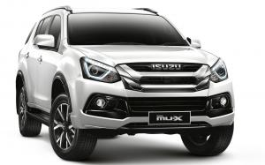 2019 Isuzu MU-X The Onyx (Everest Pearl White) (TH)