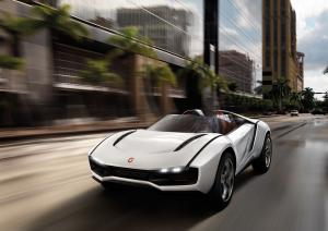 2013 ItalDesign Parcour Roadster Concept