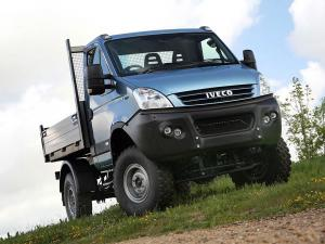 Iveco Daily 4x4 Chassis Cab 2007 года (UK)