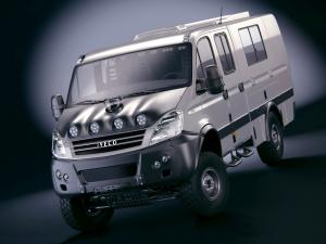 Iveco Daily 4x4 Crew Cab Rally Camp 2007 года