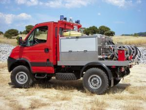 Iveco EcoDaily 4x4 Firetruck 2009 года