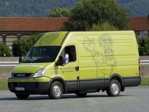 Iveco EcoDaily CNG Van 2009 года