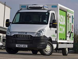 Iveco Daily Chassis Cab 2011 года (UK)