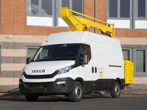 Iveco Daily Access Platform 2014 года (UK)