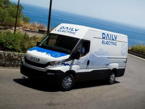 Iveco Daily Electric 2015 года