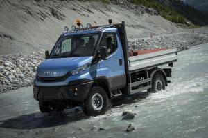 Iveco Daily 55 4x4 Chassis Cab 2016 года