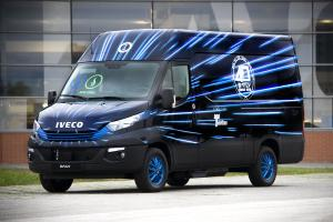 Iveco Daily 35-NP Blue Power Van 40 Years by Garage Italia Customs 2018 года