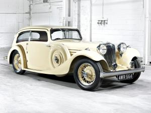 Jaguar SS 1 Airline Coupe 1934 года