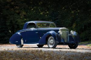 1938 Jaguar SS Coupe by Graber