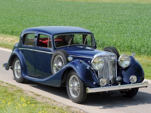 Jaguar Mark IV Saloon 1948 года