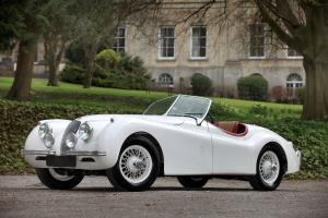 Jaguar XK120 Roadster White 1953 года