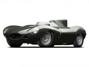 Jaguar D-Type 1955 года