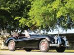 Jaguar XK140 MC Drop Head Coupe Black 1955 года