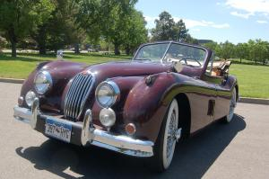 1955 Jaguar XK140 MC Drop Head Coupe