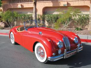 1955 Jaguar XK140 MC Roadster Red