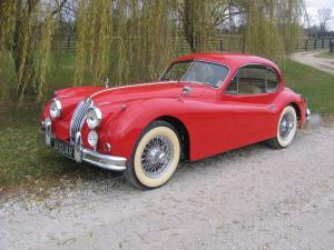 Jaguar XK140 MC Fixed Head Coupe 1957 года